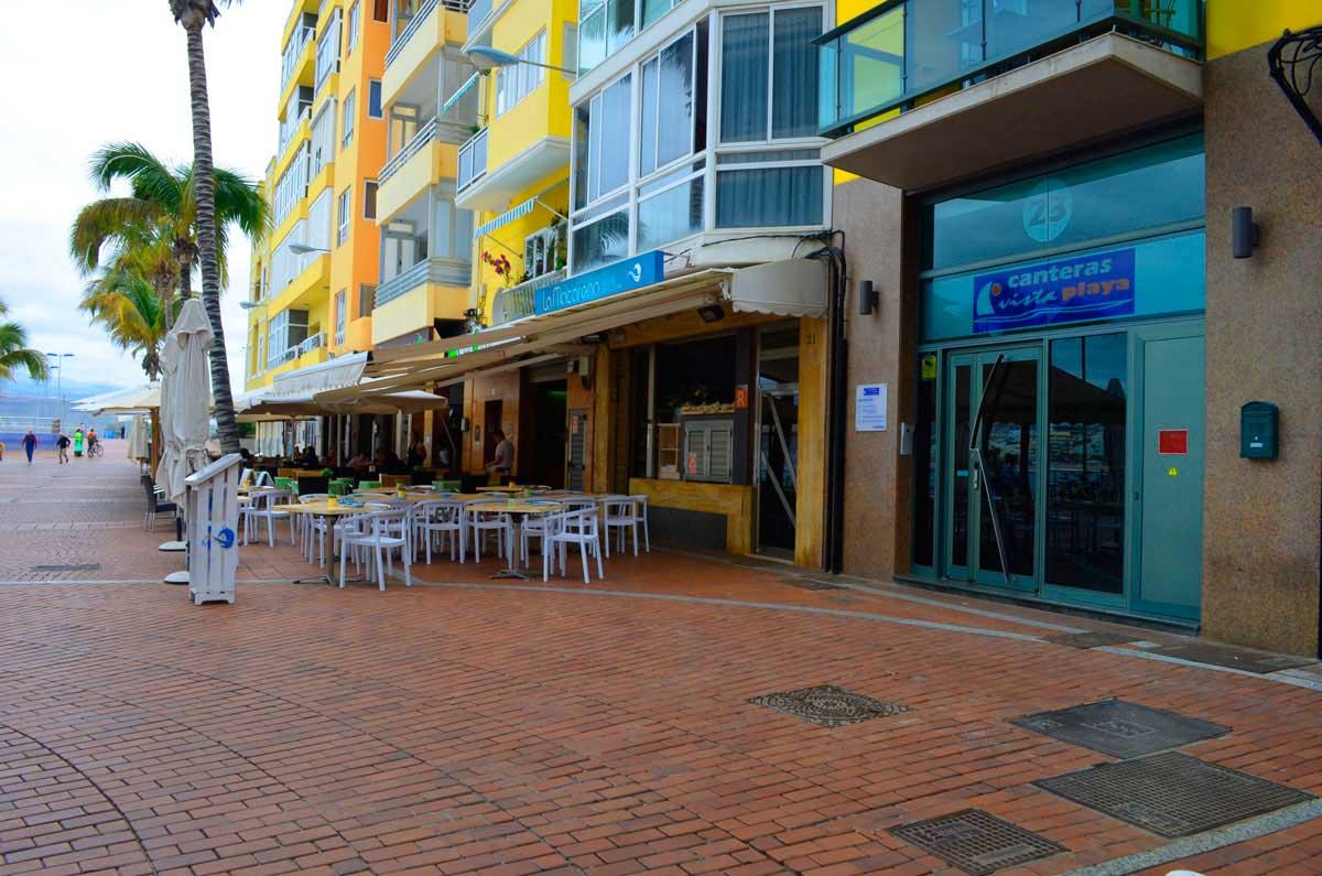 Apartamentos canteras vista playa en primera l nea de la playa de las canteras gran canaria - Apartamentos baratos en las canteras ...